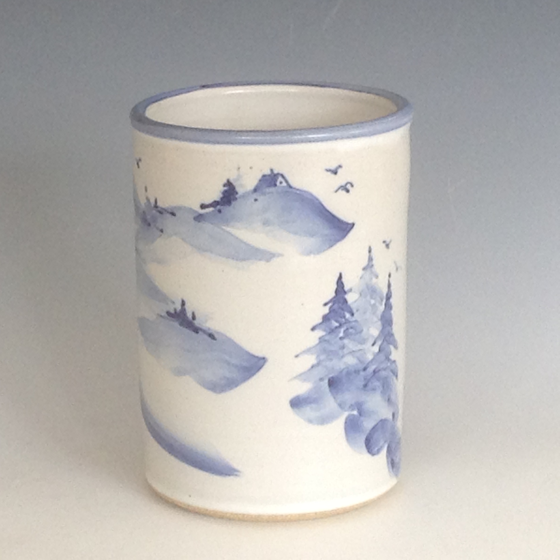 Gull Rock Pottery utensil holder