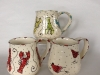 trio of Maple Lane mugs