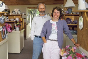 Owners, Jamie Oates and Jeannette Faunce